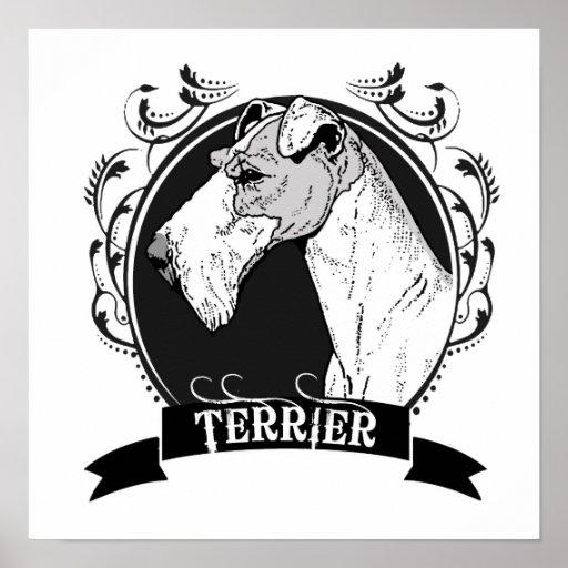 TERRIER (3) POSTERS