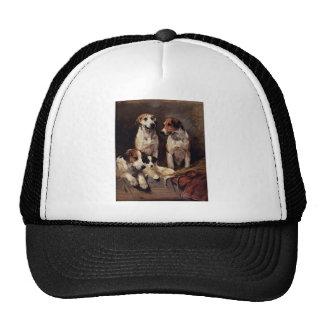 Terrier Pet Dogs Animals Painting Trucker Hat