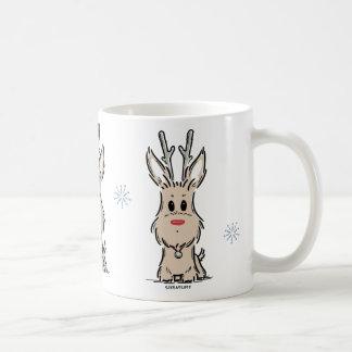 Terrier Reindeer Mug