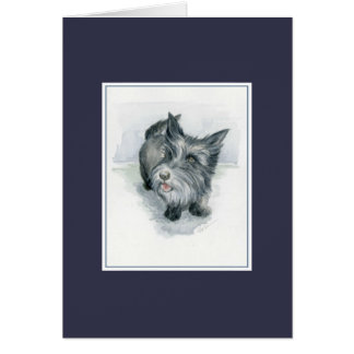 Terrier-rific Cairn Card