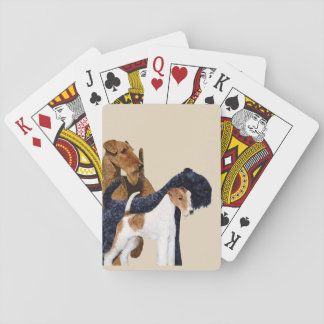 Terriers Love Playing Cards