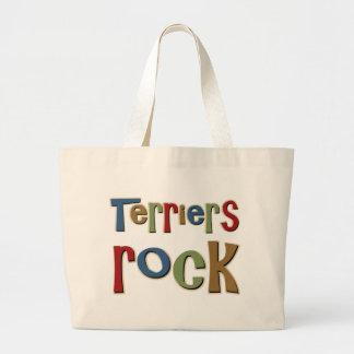Terriers Rock Tote Bags