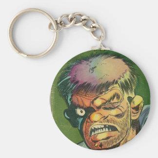 Terrific horror comic book key chains