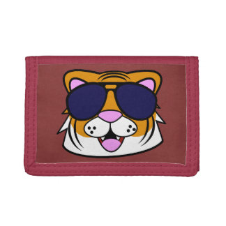 Terrific Tiger Tri-fold Wallet