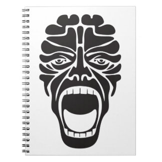 terrifying scream notebook