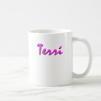 Terri's coffee mug