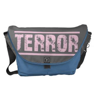 TERROR BAG blue skies Courier Bags