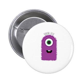Terror-ific 6 Cm Round Badge