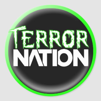 Terror Nation Sticker 2017