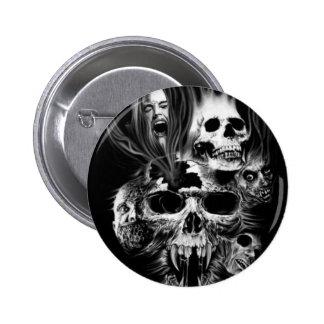 Terror of Halloween - 6 Cm Round Badge