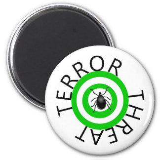 Terror Threat 6 Cm Round Magnet