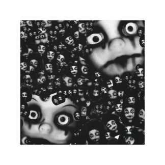Terror twins,Haunted dolls picture canvas art