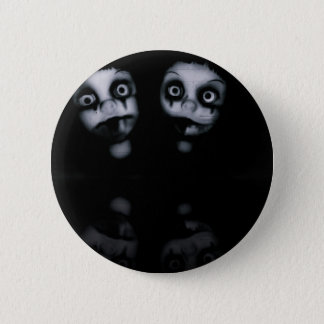 Terror twins haunted dolly product 6 cm round badge