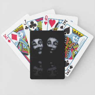 Terror twins haunted dolly product bicycle playing cards