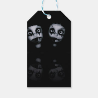 Terror twins haunted dolly product gift tags