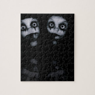 Terror twins haunted dolly product jigsaw puzzle