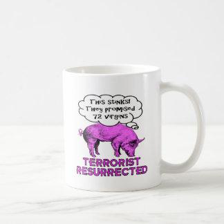 Terrorist Resurrected Pig Coffee Mugs