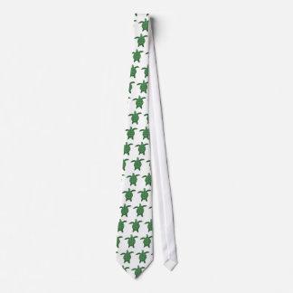 Terry cloth sea turtle tie