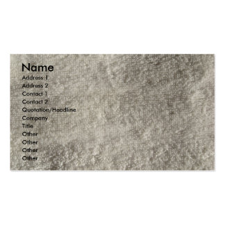 Terry Cloth Towel Pack Of Standard Business Cards