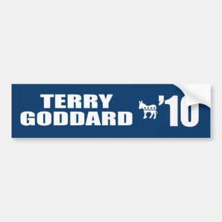 TERRY GODDARD FOR GOVERNOR BUMPER STICKER