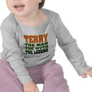 TERRY - Man, Myth, Legend Tee Shirts