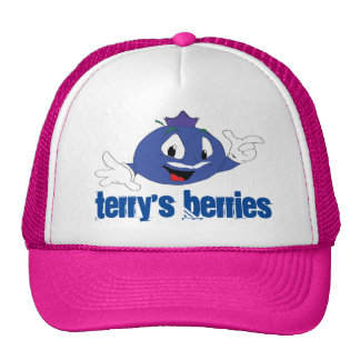 Terry's Berries Trucker Snap Back. Cap