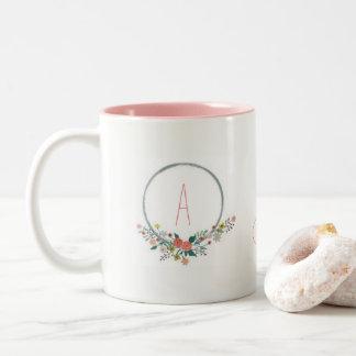 Tes & Chats Two-Tone Coffee Mug