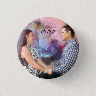Tesla & Andres 3 Cm Round Badge