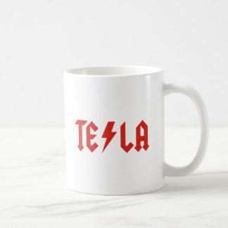 Tesla Basic White Mug