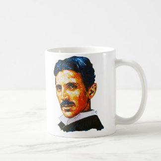 Tesla, I'm a genius Basic White Mug