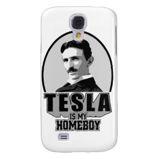 Tesla Is My Homeboy Galaxy S4 Cases