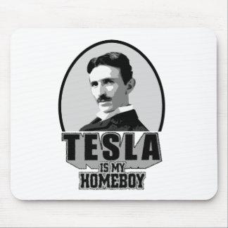 Tesla Is My Homeboy Mousepad