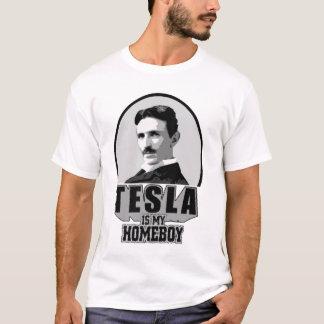 Tesla Is My Homeboy T-Shirt