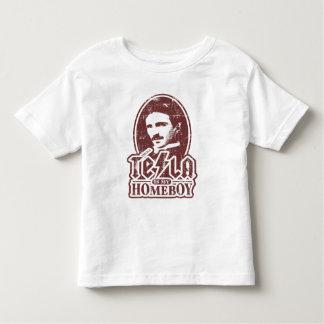 Tesla Is My Homeboy Toddler T-Shirt