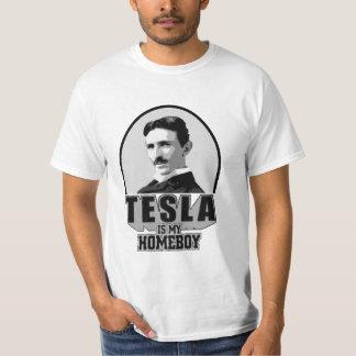 Tesla Is My Homeboy Tshirts