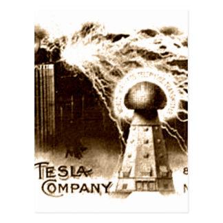 Tesla Letterhead Postcard