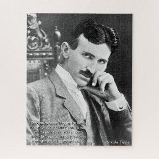 Tesla Quote Puzzle (520 pieces)
