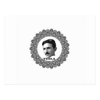 tesla ring postcard