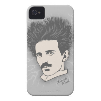 Tesla Static II iPhone 4 Cases
