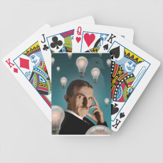Tesla's Dream Bicycle Playing Cards