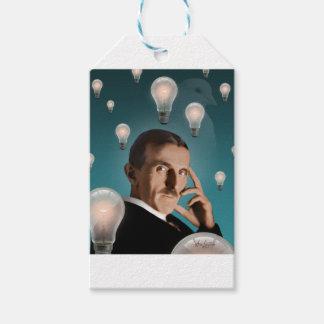 Tesla's Dream Gift Tags