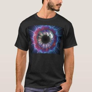 Tesla's Eye Fractal Design T-Shirt