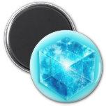 Tesseract, 4D Hypercube, Hyperwürfel Kühlschrankmagnet