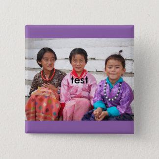 test 15 cm square badge