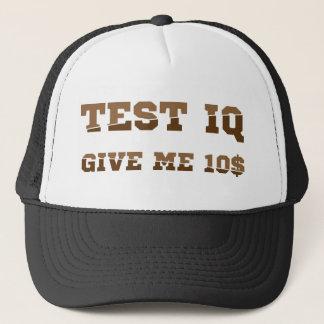 Test iq trucker hat