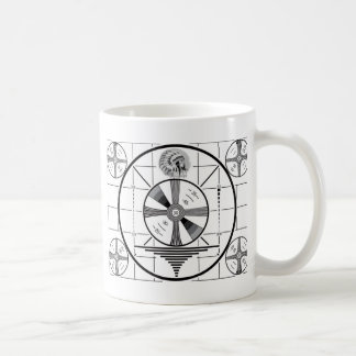 test pattern coffee mug