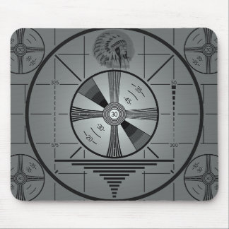 Test Pattern Mousepad