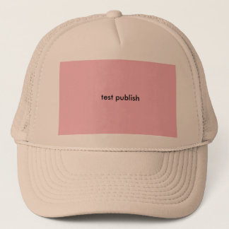 test products trucker hat