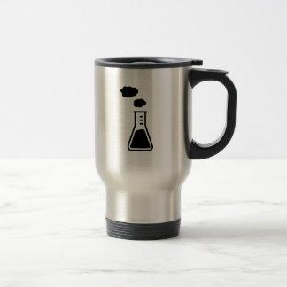 Test tube smoke coffee mugs