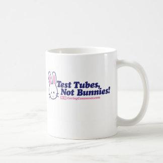 Test Tubes, Not Bunnies Mug